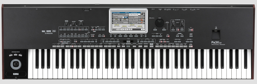 KORG Pa3X Le - Front